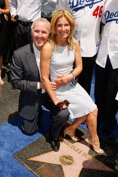 frank mccourt and family. owner Frank McCourt will